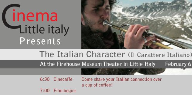 The Italian Character (Il Carattere Italiano)